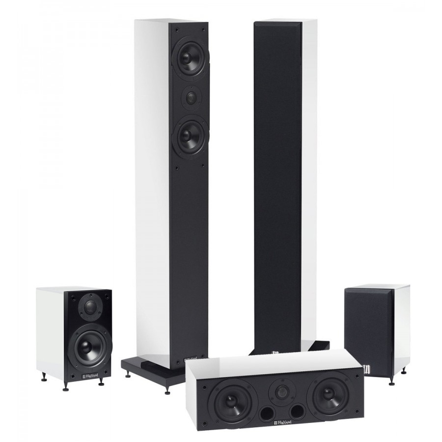 enceintes 5 0 highland audio oran 4303. Black Bedroom Furniture Sets. Home Design Ideas