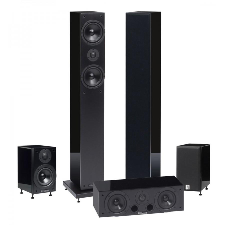 enceintes home cinema 5 0 highland audio oran 4503. Black Bedroom Furniture Sets. Home Design Ideas
