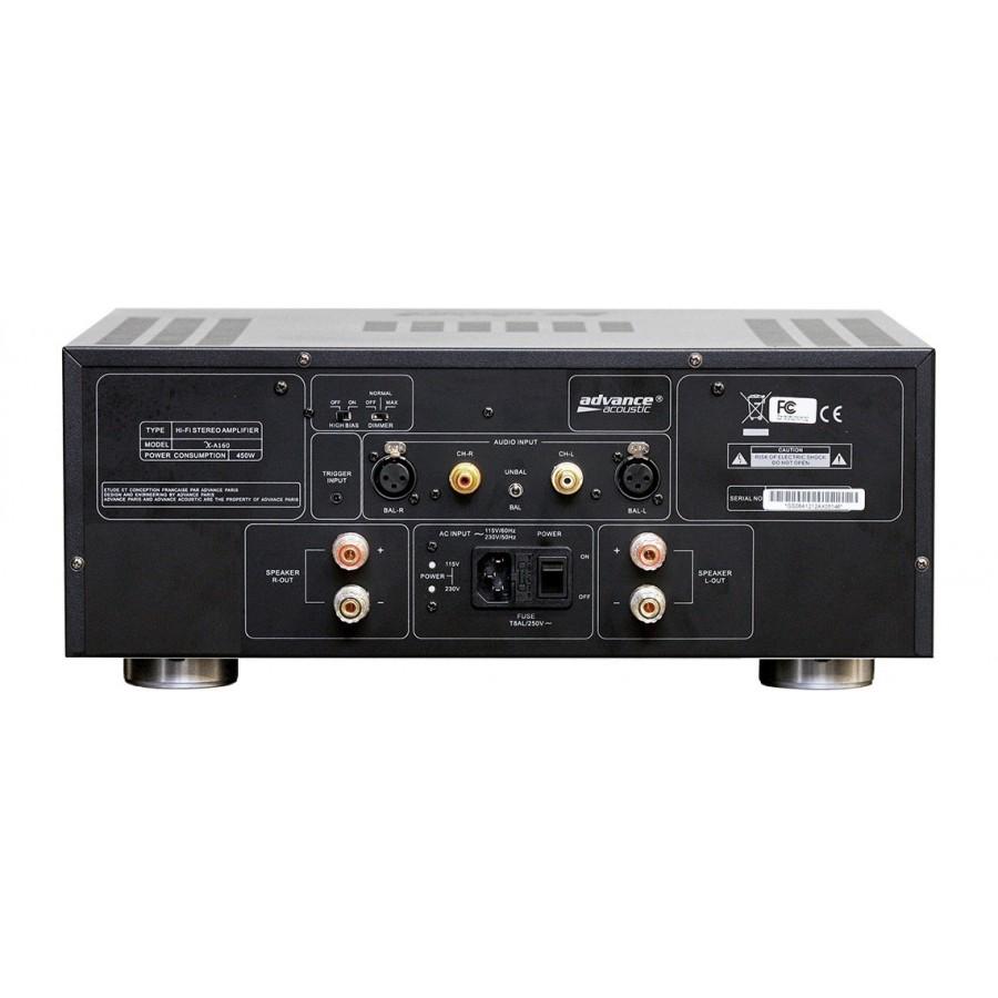 advance acoustic x a160 amplificateur de puissance st r o. Black Bedroom Furniture Sets. Home Design Ideas