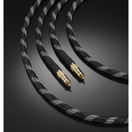Câble de modulation haut de gamme Real Cable Chenonceau RCA