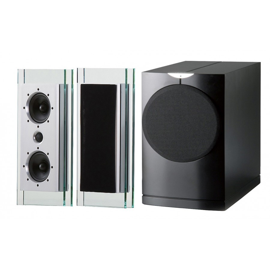waterfall audio elora 2 1 enceintes hifi compactes haut. Black Bedroom Furniture Sets. Home Design Ideas
