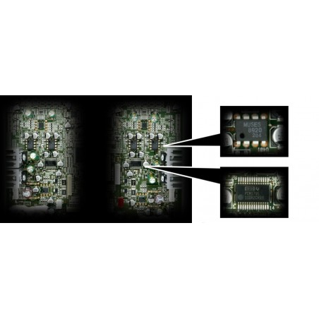 TEAC UD-501 intérieur