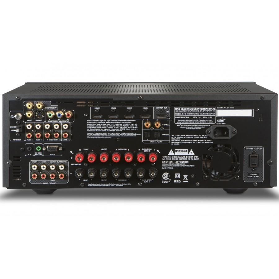 Nad T 748 V2 Amplificateur Home Cin 233 Ma