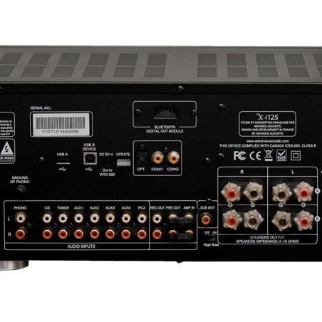Advance Acoustic X-i125 connectique