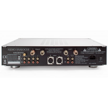 Audio Analogue AAcento arrière