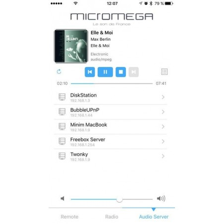 Micromega M-One 150 appli