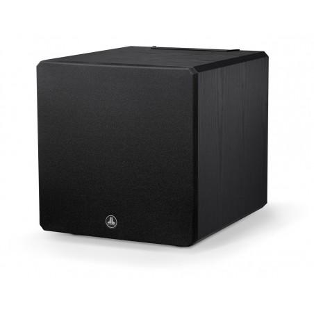 JL Audio E-Sub e112 bois noir avec cache