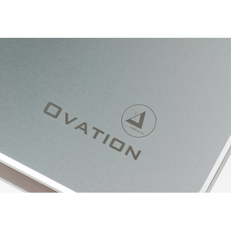 Clearaudio Ovation logo