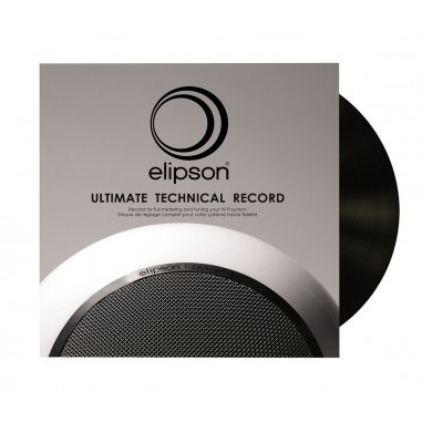 Disque vinyle de test et rodage Elipson Ultimate Technical Record